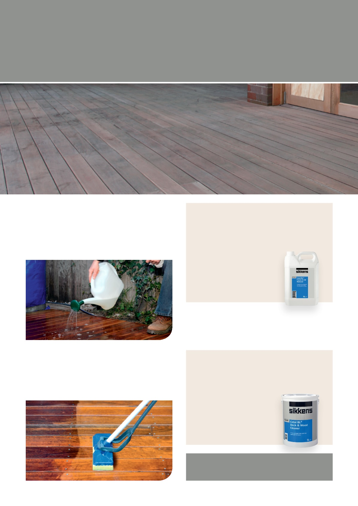 Sikkens Timber Care